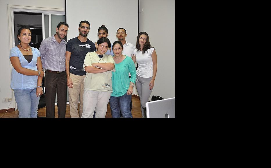 Beirut workshop team. (Photo: Susanne Fischer)