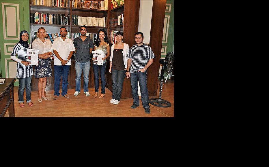 Tripoli workshop team. (Photo: Susanne Fischer)