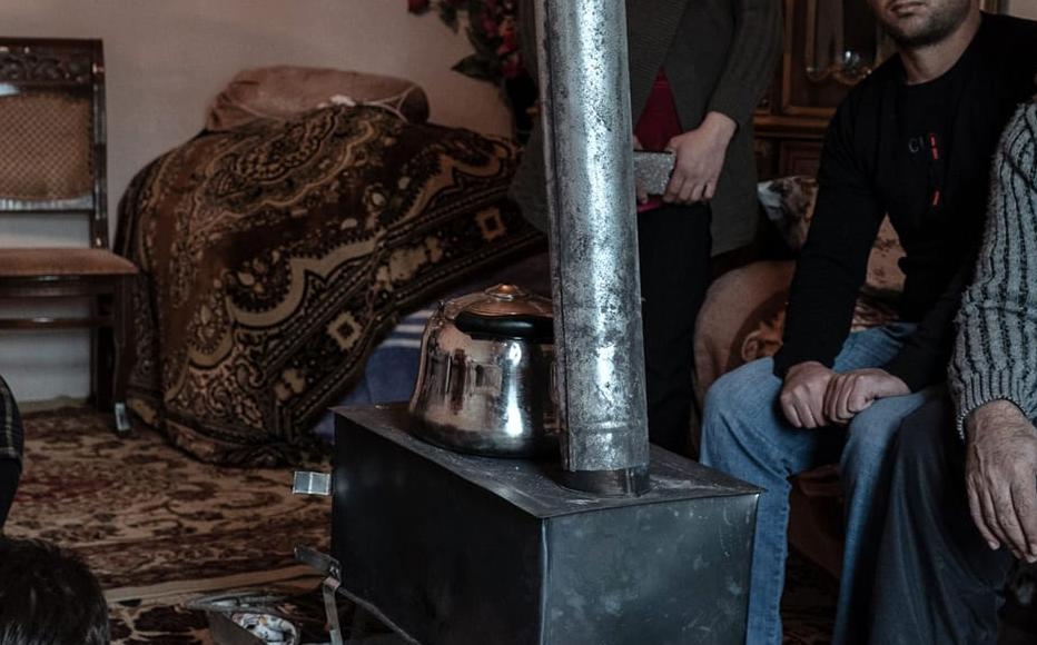 There is only one room left in the Gasimovs' house that is still usable. Until recently, they were staying in a rental house in Barda, but with no money left for rent, they were forced to return home.