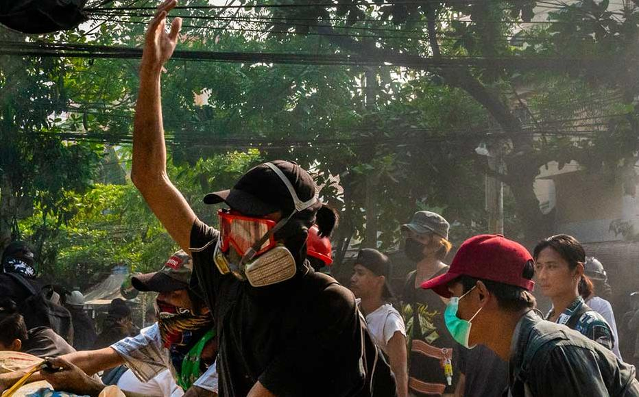 Myanmar's military Junta continued a brutal crackdown on a nationwide civil disobedience movement in which thousands of people have turned out in continued defiance of live ammunition.