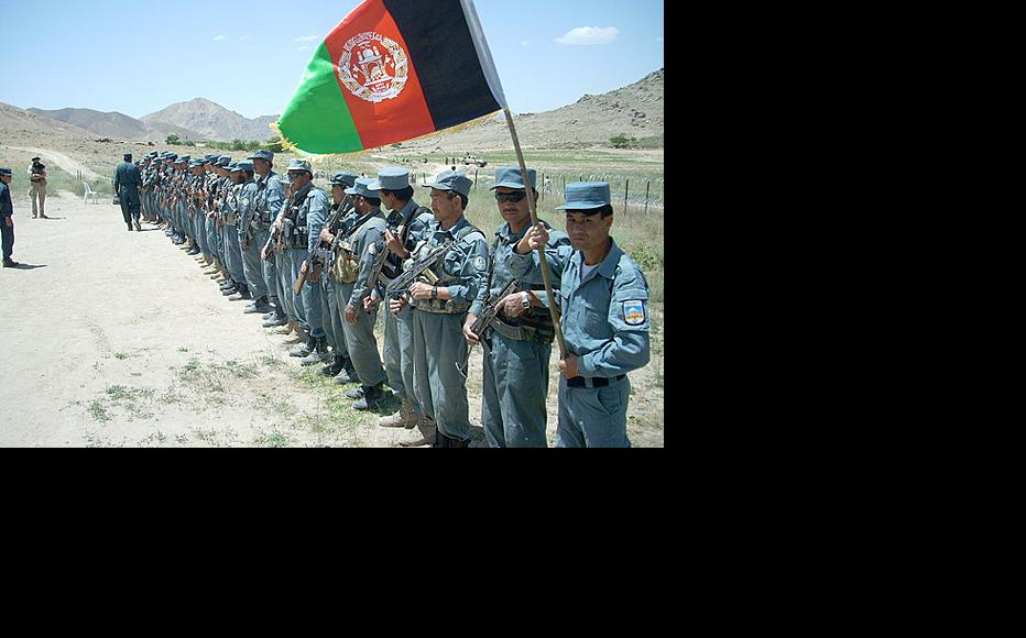 Afghan National Police unit inspected in Zabul province. Picture from 2011. (Photo: Isafmedia/Flickr)