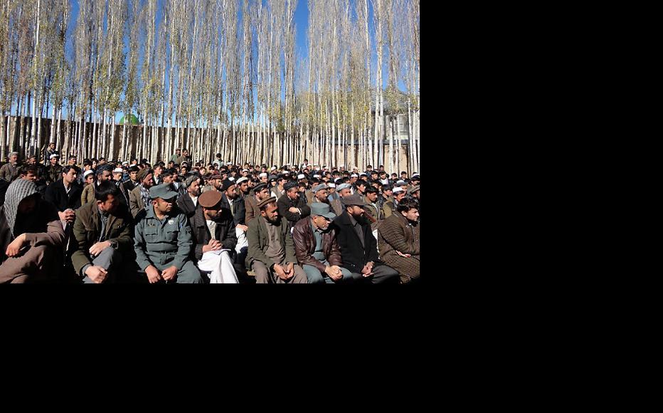 IWPR debate in Badakhshan province, November 2015. (Photo: IWPR)