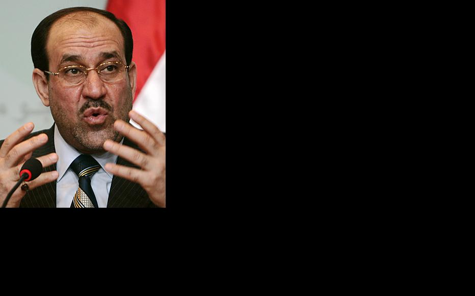 Prime Minister Nuri al-Maliki speaks following Iraq's national elections held March 7. (Photo: Serwan Azez/Metrography)