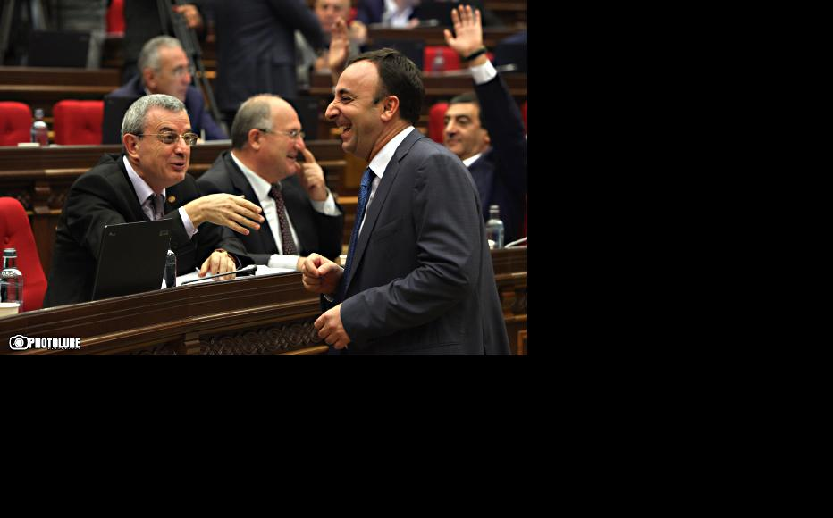 Republican Party members after winning a vote to put constitutional reforms to a referendum. (Photo: Photolure agency)