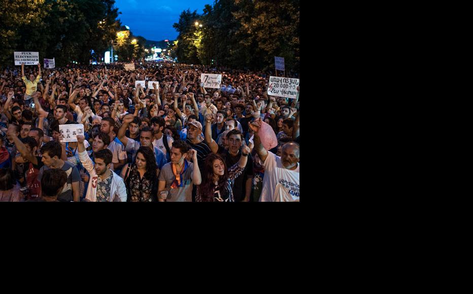 The evening of June 23. (Photo: Nazik Armenakyan)