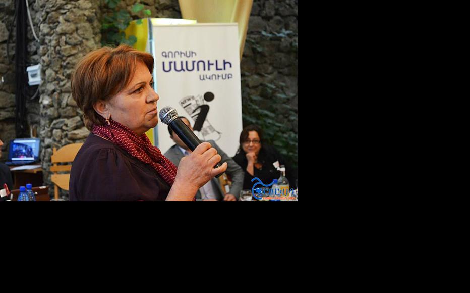 Armenian journalist Susanna Shahnazaryan. (Photo courtesy of S. Shahnazaryan)