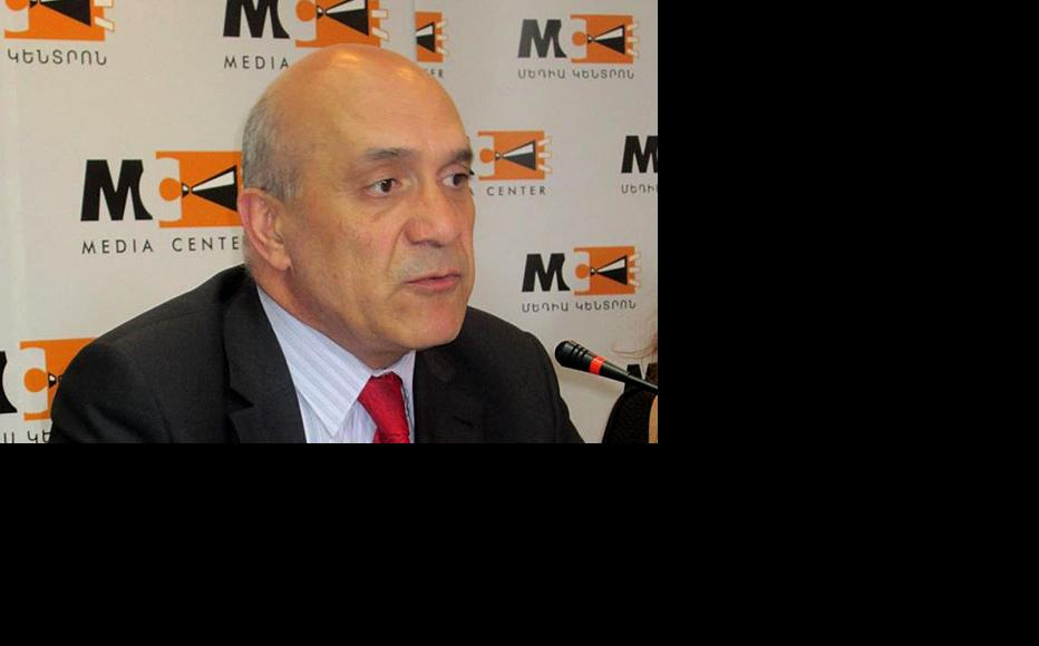 Ashot Melikyan, head of Armenia's Committee for the Protection of Free Speech. (Photo: Media Centre, Yerevan)