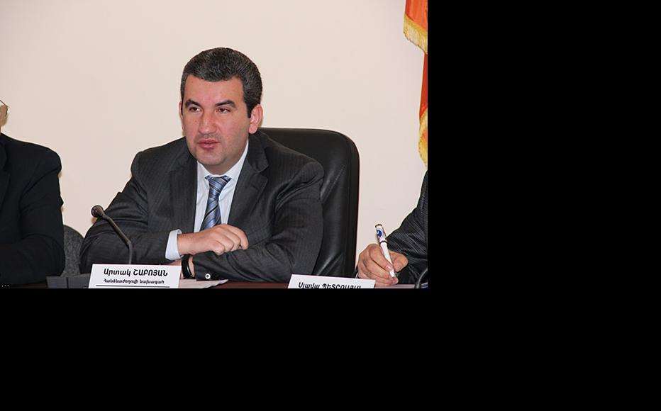 Artak Shaboyan, head of Armenia's agency for the protection of competition. (Photo: Arka news agency)