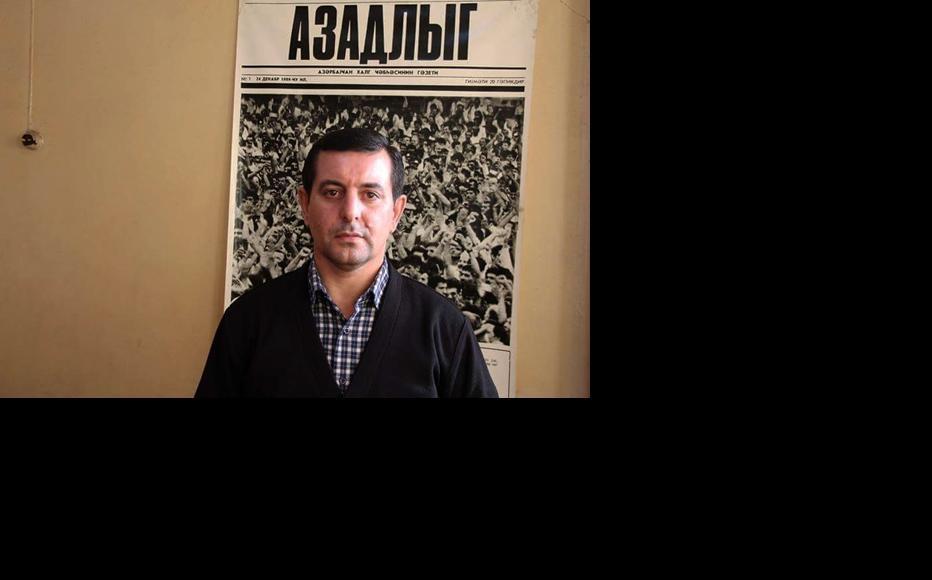 Faig Amirli. (Photo: Ramin Deko)