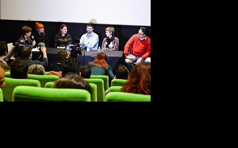 "Debate held after the screening of ""No Excuses"". (Photo: Mario Donlic)"