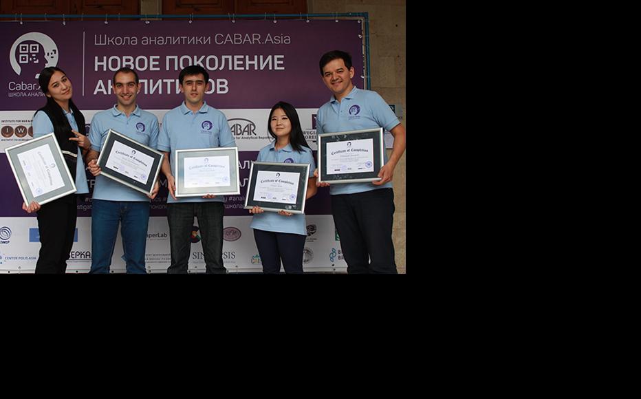 Participants from Uzbekistan. (Photo: CABAR/IWPR)