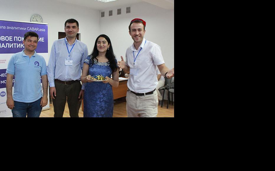 Participants from Tajikistan. (Photo: CABAR/IWPR)