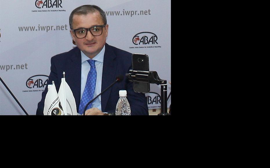 Abakhon Sultonazarov, IWPR Regional Director for Central Asia. (Photo: IWPR)