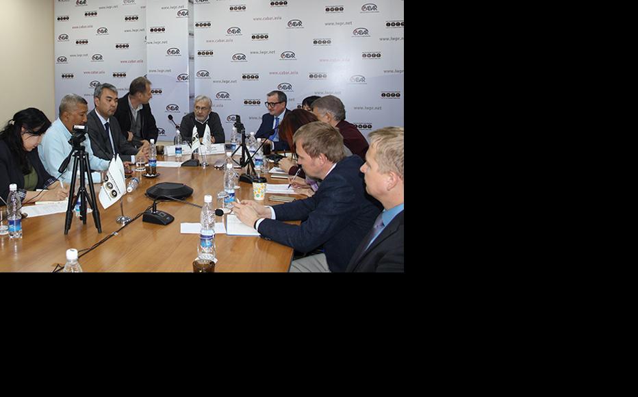 IWPR event held in Bishkek. (Photo: IWPR)