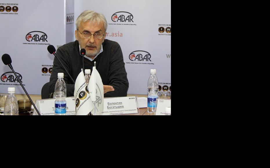 Valentin Bogatyrev, a Kyrgyz expert. (Photo: IWPR)