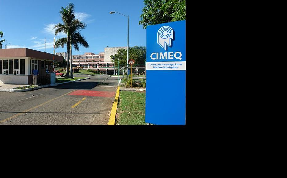 The exterior of CIMEQ, a medical institution for the elite. (Photo: CIMEQ/Facebook)