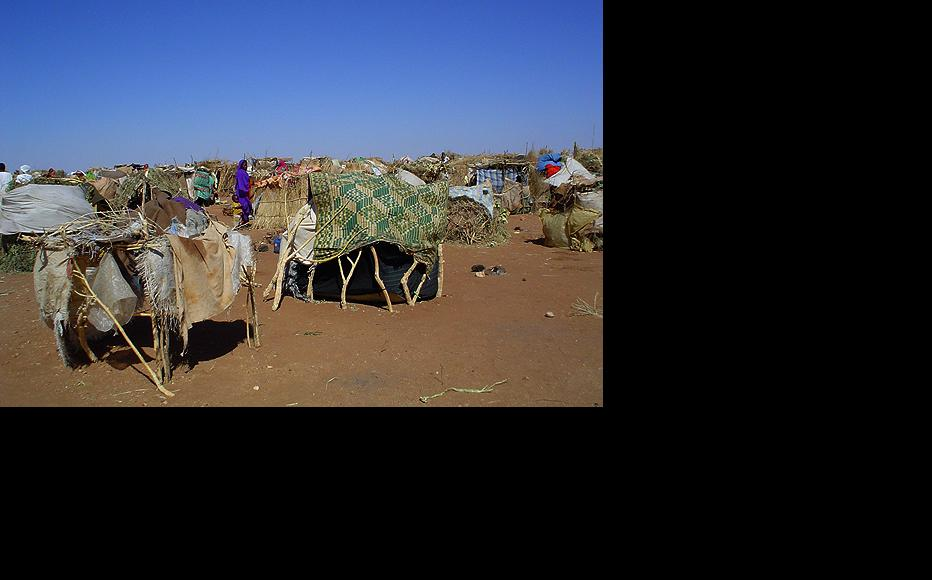 A refugee camp in Darfur. (Photo: USAID)