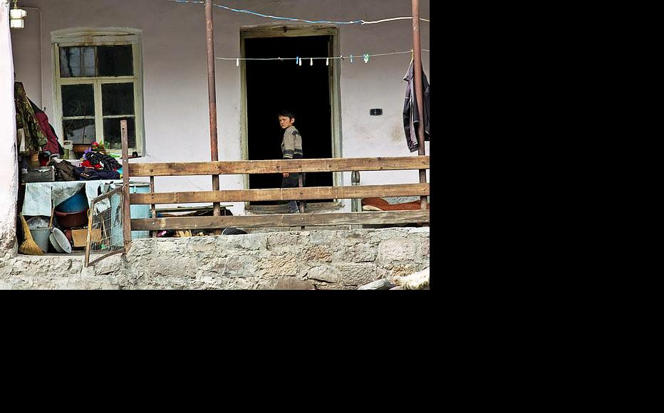 Mleta locals say it was a miracle that no one died in the April 2010 flood, when the Aragvi river, blocked by a landslide, overflowed and burst into villagers' homes during the night. (Photo: Giorgi Kupatadze)