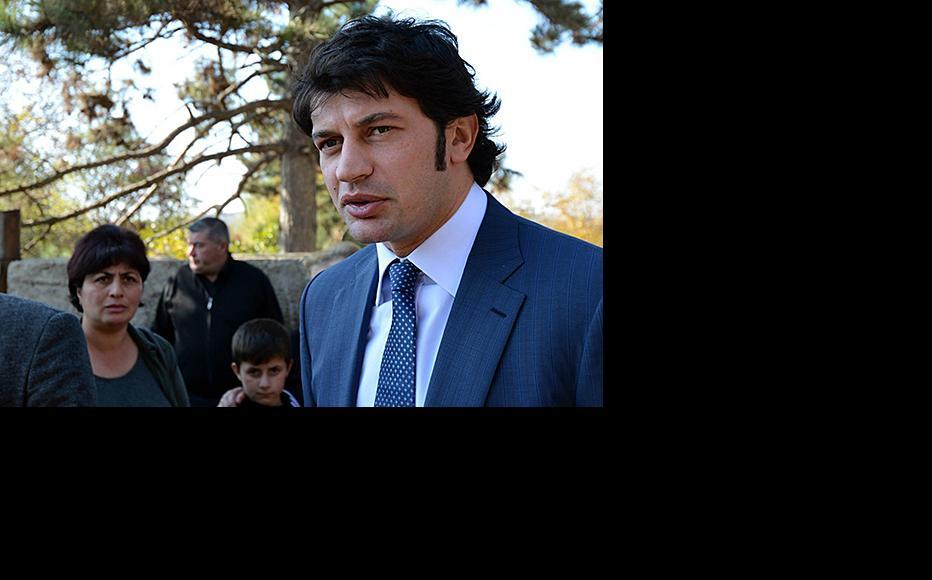 Georgian energy minister Kakhi Kaladze. (Photo: Georgian energy ministry)