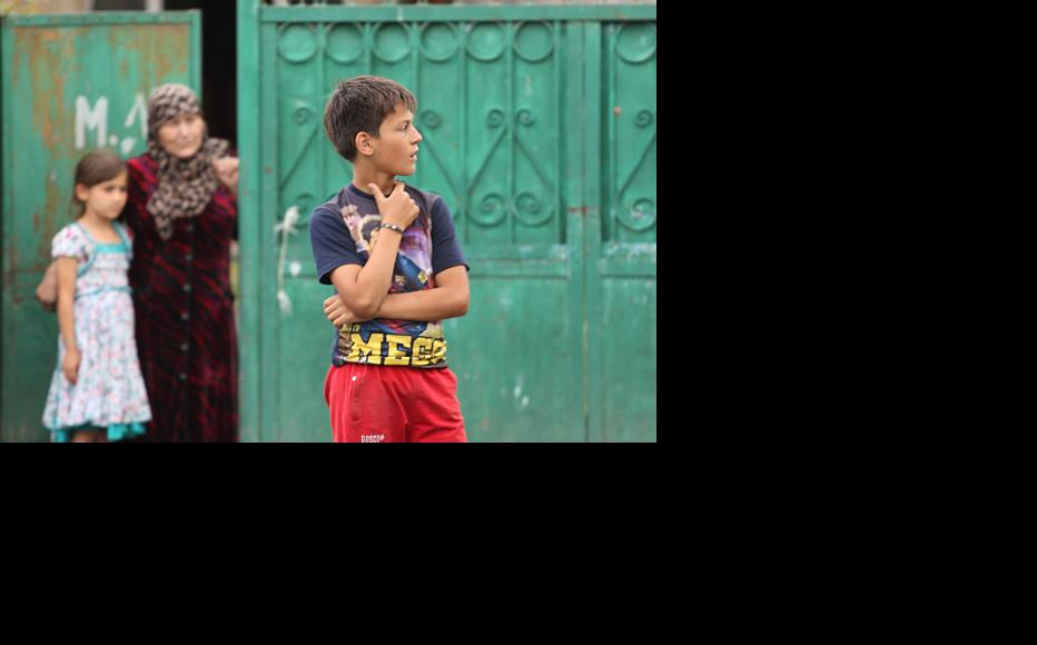 A boy in Duisi. Older adolescents are often drawn to conservative Islam. (Photo: IWPR)