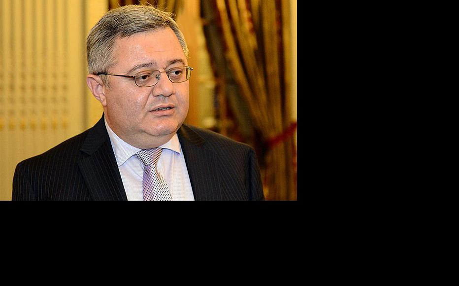 David Usupashvili, speaker of the Georgian parliament. (Photo: Georgian parliamentary press service)