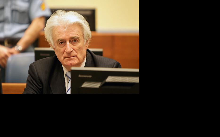 Radovan Karadžić during his trial judgement on 24 March 2016. (Photo: ICTY)