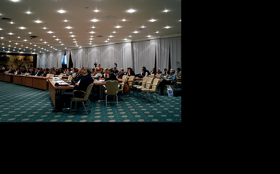 Participants at the Sarajevo conference on the Hague tribunal's legacy, organised by the ICTY, 6-Nov-12. (Photo: ICTY)