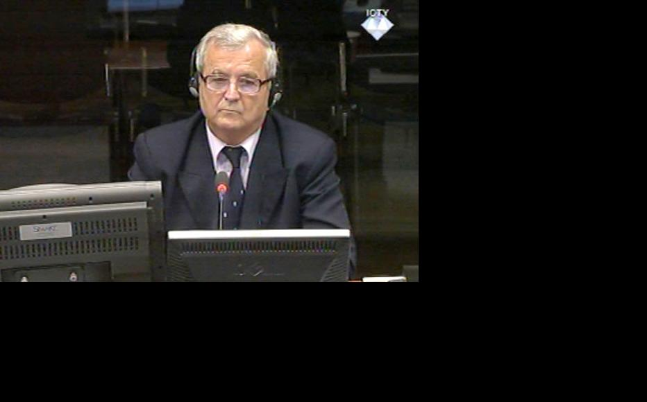 Milenko Todorovic, witness in the Mladic trial. (Photo: ICTY)
