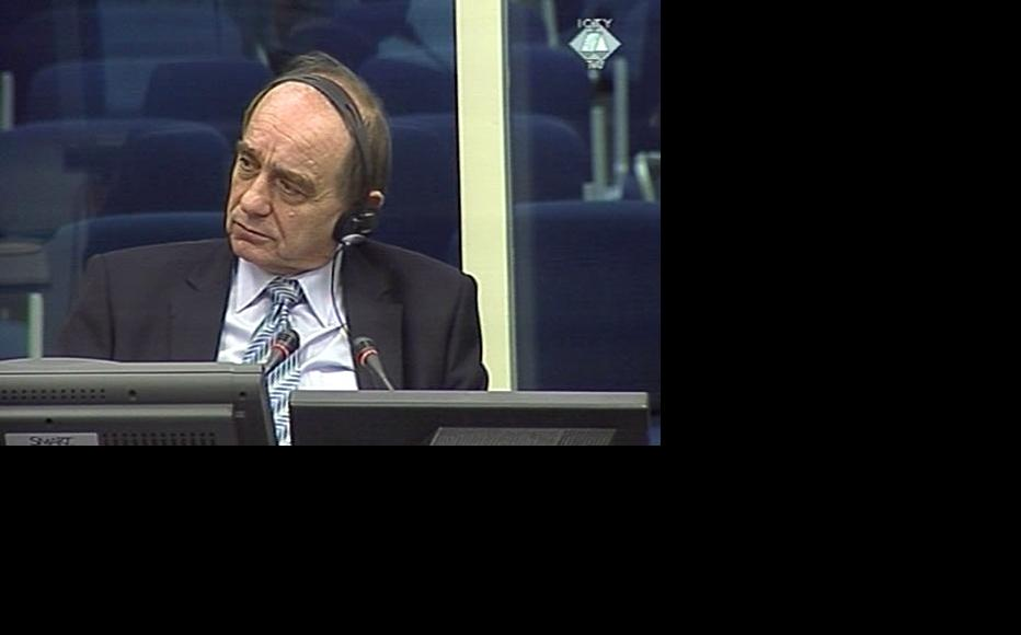 Muharem Murselovic, prosecution witness at the ICTY courtroom. (Photo: ICTY)
