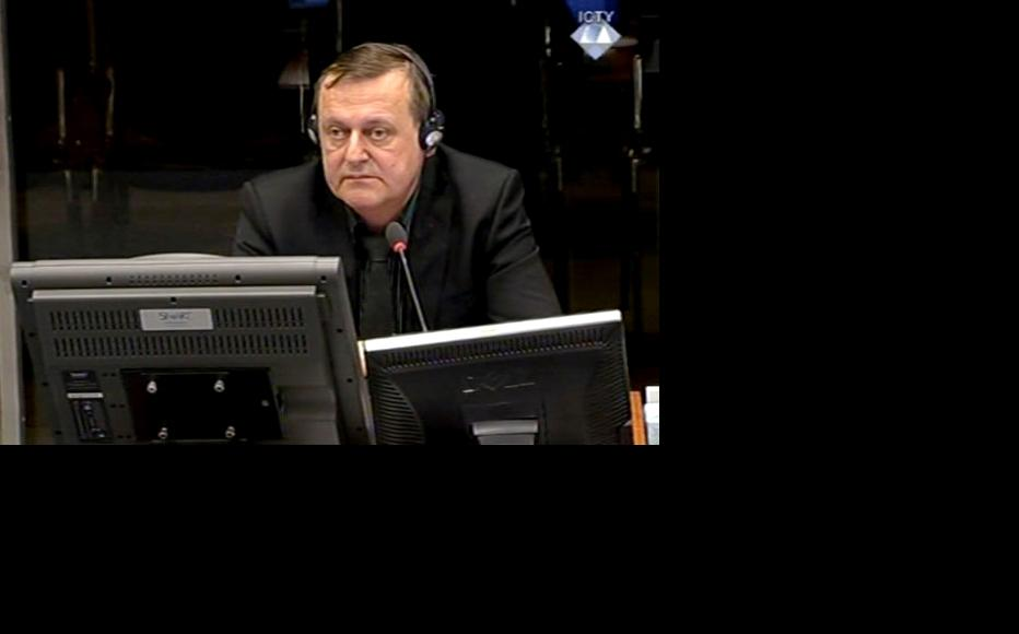 Thorbjorn Overgard, prosecution witness in the Mladic trial. (Photo: ICTY)