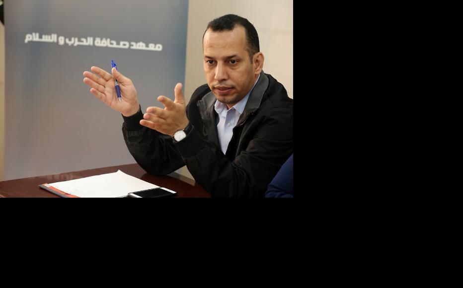 IWPR consultant Hisham El-Hashimi. (Photo: IWPR)