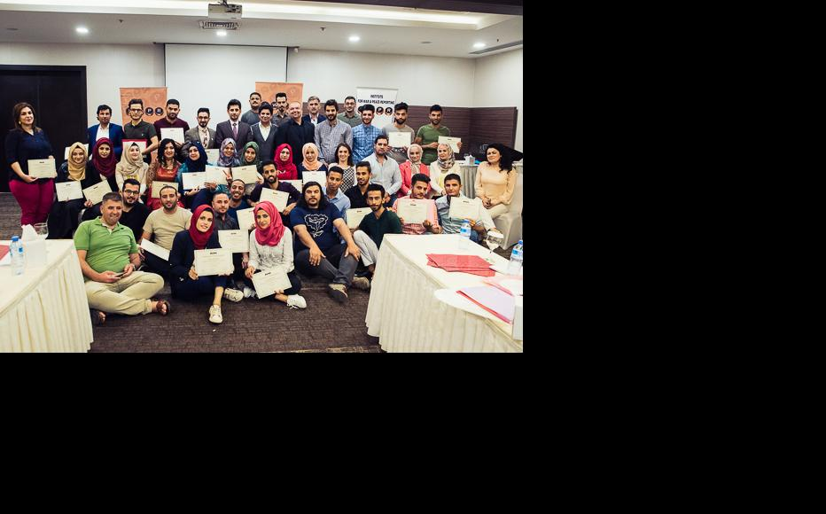 IWPR Iraq training sessions, July 2017. (Photo: IWPR)