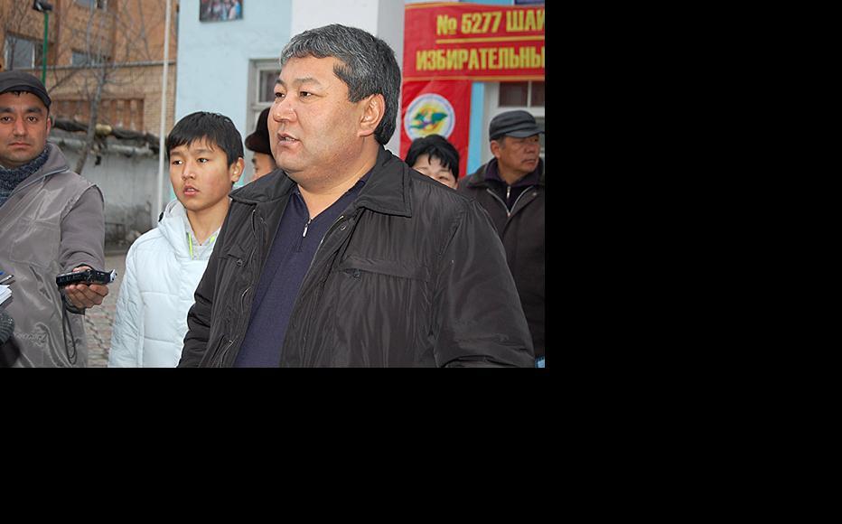 Former Osh mayor Melis Myrzakmatov. (Photo: Ernist Nurmatov)