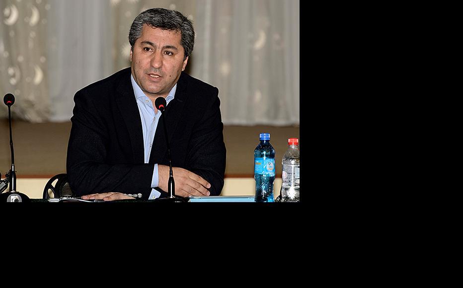 Islamic Rebirth Party leader Muhiddin Kabiri. (Photo: Galim Faskhutdinov)