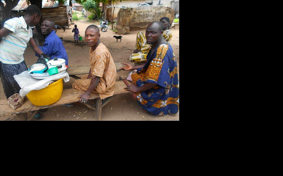 Rural dwellers in the town of Ayete, Ibarapa North, Oyo state. (Photo: Hannah Ojo)