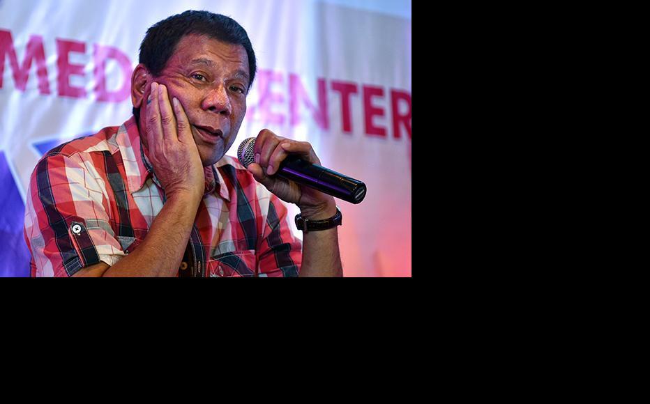 Philippines president Rodrigo Duterte. (Photo: Jes Aznar/Getty Images)