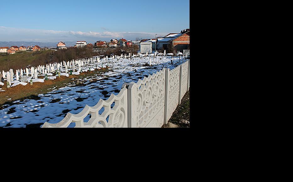 Muslim cemetery in Rizvanovici. (Photo: Dražen Huterer/Nejra Suljović)