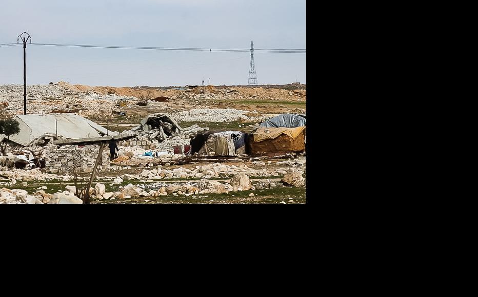 The remains of Bseida. (Photo: Ali Dandoush)