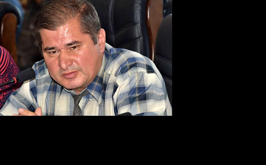 Tajik opposition politician Rahmatillo Zoirov. (Photo: Galim Faskhutdinov)