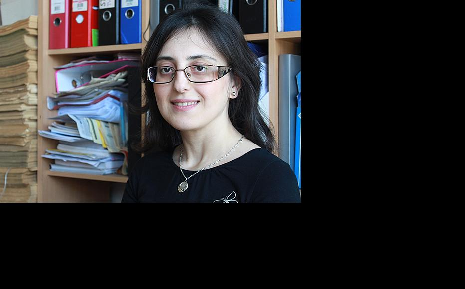 Tamar Avaliani from the Human Rights Centre in Tbilisi. (Photo courtesy of T. Avaliani)