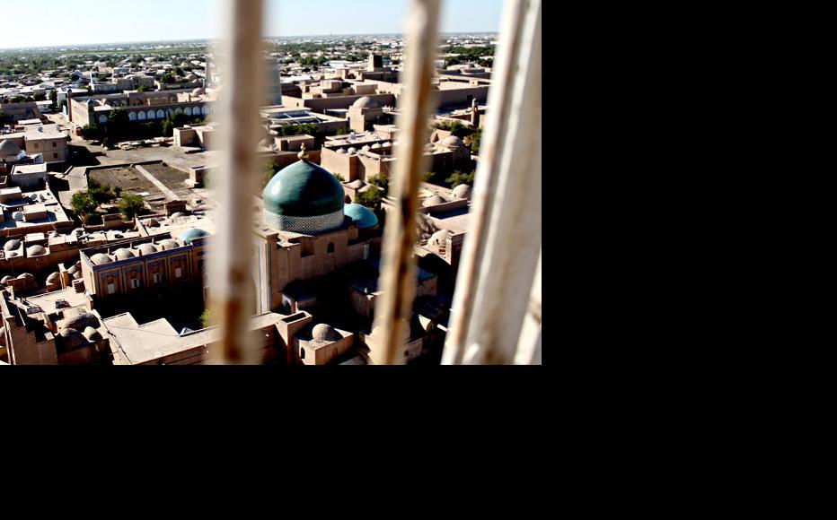 View of Khiva from above. (Photo: Nargiza Ryskulova)
