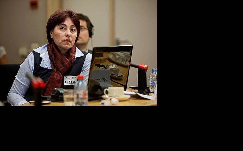 Nadezhda Ataeva, head of the Association for Human Rights in Central Asia. (Photo courtesy of N. Ataeva)