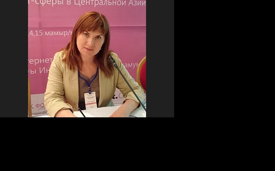 Inga Sikorskaya. (Photo: IWPR)