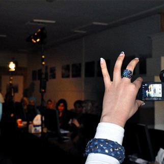 An IWPR workshop targeting Iraqi women, October 2011, Baghdad. (Photo: IWPR)