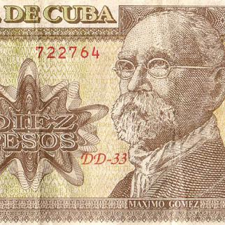 A Cuban ten-peso note of the kind now being counterfeited. (Photo: David Sasaki/Flickr)