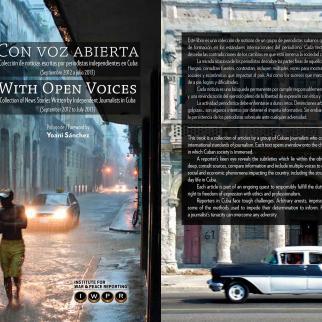 With Open Voices / Con Voz Abierta book cover.