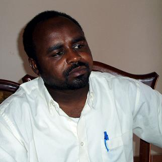 Sudanese journalist Abdelrahman was detained in Khartoum on October 30 2010. (Photo: IWPR)