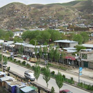 Faizabad, the capital city of Badakhshan province. (Photo: IWPR)