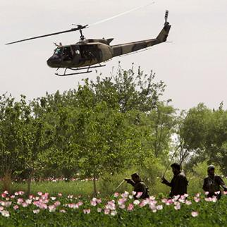 The new campaign is the latest in a series of joint US-Afghan counter-narcotics operations in Helmand. (Photo: John Moore/Getty Images)