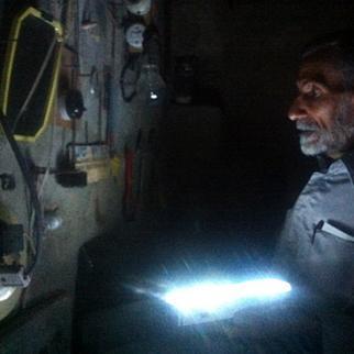Amir al-Shimmari spent 22 years entombed underground. (Photo: Emad al-Shara)